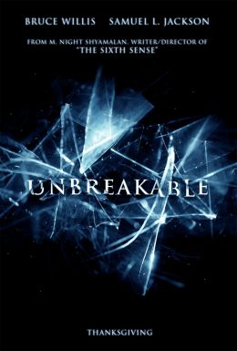 "Poster for the film ""Invulnerable"" / Unbreakable / (2000)"