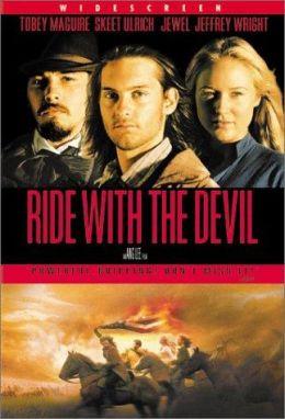 """Постер к фильму """"Погоня с дьяволом"""" /Ride with the Devil/ (1999)"""