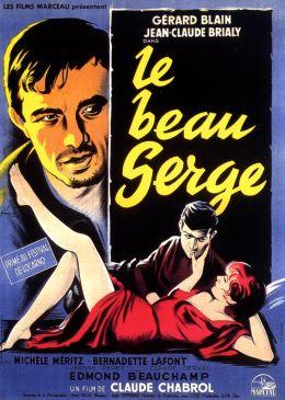 "Постер к фильму ""Красавчик Серж"" /Le beau Serge/ (1958)"