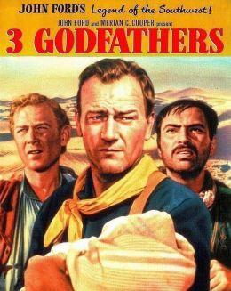"""Постер к фильму """"Три крестных отца"""" /3 Godfathers/ (1948)"""