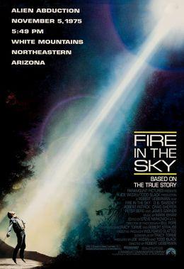 """Постер к фильму """"Огонь в небе"""" /Fire in the Sky/ (1993)"""