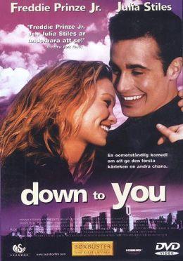 """Постер к фильму """"Только ты и я"""" /Down to You/ (2000)"""
