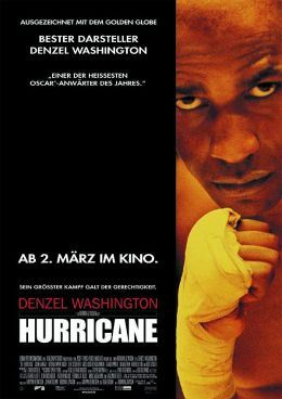"""Постер к фильму """"Ураган"""" /The Hurricane/ (1999)"""