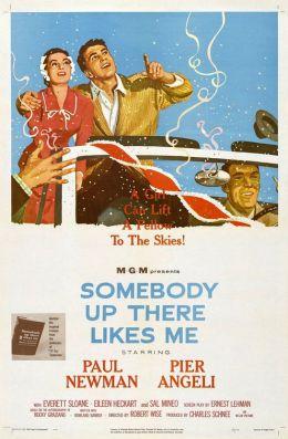 "Постер к фильму ""Кто-то там наверху любит меня"" /Somebody Up There Likes Me/ (1956)"