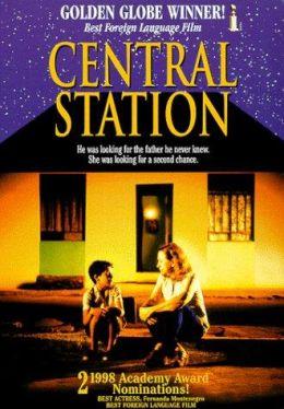 """Постер к фильму """"Центральный вокзал"""" /Central Do Brasil/ (1998)"""