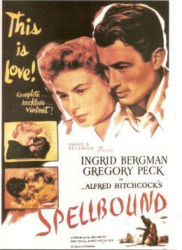 """Постер к фильму """"Завороженный"""" /Spellbound/ (1945)"""