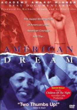 """Постер к фильму """"Американская мечта"""" /American Dream/ (1990)"""
