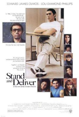 """Постер к фильму """"Выстоять и сделать"""" /Stand And Deliver/ (1988)"""