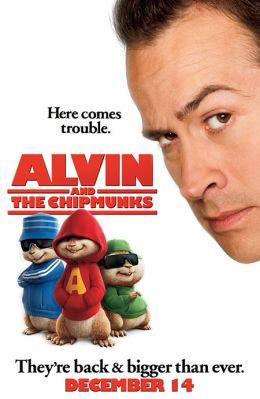"""Постер к фильму """"Элвин и бурундуки"""" /Alvin and the Chipmunks/ (2007)"""