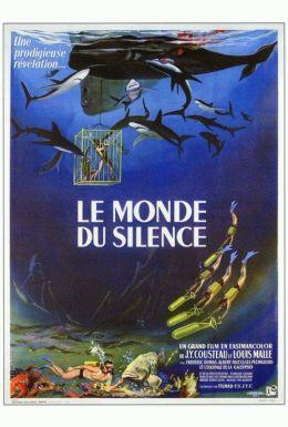"""Постер к фильму """"В мире безмолвия"""" /Le Monde du silence/ (1956)"""