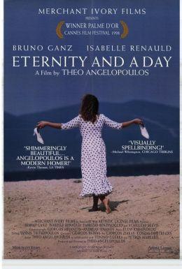 "Постер к фильму ""Вечность и один день"" /Mia aioniotita kai mia mera/ (1998)"
