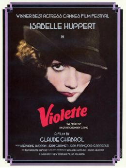 """Постер к фильму """"Виолетта Нозьер"""" /Violette Noziere/ (1978)"""