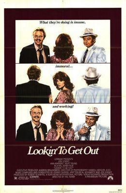 """Постер к фильму """"В поисках выхода"""" /Lookin' to Get Out/ (1982)"""
