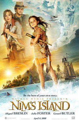 """Постер к фильму """"Остров Ним"""" /Nim's Island/ (2008)"""