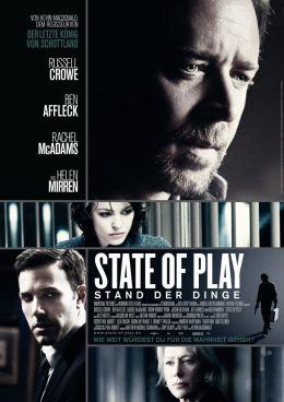"""Постер к фильму """"Большая игра"""" /State of Play/ (2009)"""