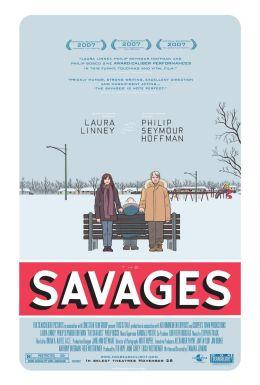 """Постер к фильму """"Дикари"""" /The Savages/ (2007)"""