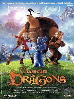 """Постер к фильму """"Охотники на драконов"""" /Chasseurs de dragons/ (2008)"""