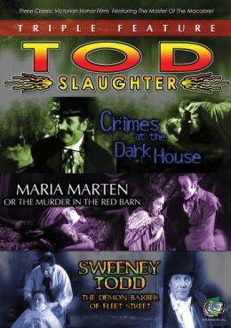 """Постер к фильму """"Суини Тодд, демон-парикмахер с Флит-стрит"""" /Sweeney Todd: The Demon Barber of Fleet Street/ (1936)"""