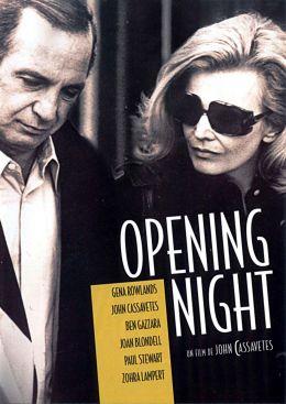 """Постер к фильму """"Премьера"""" /Opening night/ (1977)"""