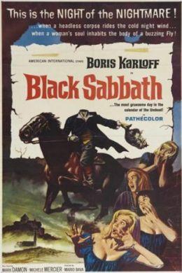 """Постер к фильму """"Черная суббота, или Три лица страха"""" /I tre volti della paura/ (1963)"""