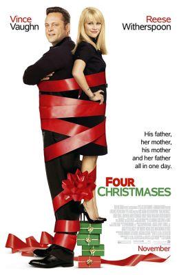 """Постер к фильму """"Четыре Рождества"""" /Four Christmases/ (2008)"""