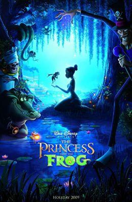 "Постер к фильму ""Принцесса и лягушка"" /The Princess and the Frog/ (2009)"