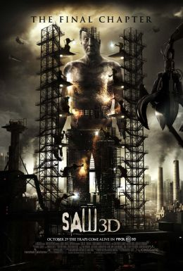 """A poster for the movie """"Saw 3D"""" / Saw 3D / (2010)"""