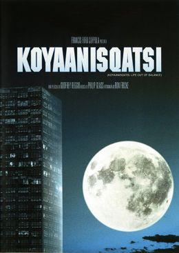 "Постер к фильму ""Кояанискатси"" /Koyaanisqatsi/ (1982)"