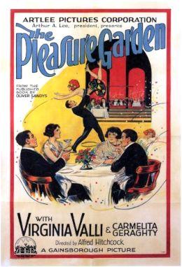 """Постер к фильму """"Сад наслаждений"""" /The Pleasure Garden/ (1925)"""