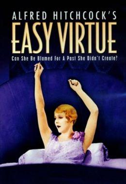 """Постер к фильму """"Легкое поведение"""" /Easy Virtue/ (1928)"""