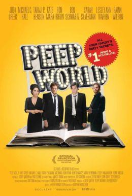 """Постер к фильму """"Мир через замочную скважину"""" /Peep World/ (2010)"""