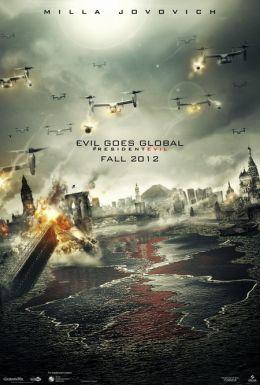 """Постер к фильму """"Обитель зла: Возмездие"""" /Resident Evil: Retribution/ (2012)"""