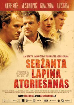 """Постер к фильму """"Возвращение сержанта Лапиньша"""" /Serzanta Lapina atgriesanas/ (2010)"""
