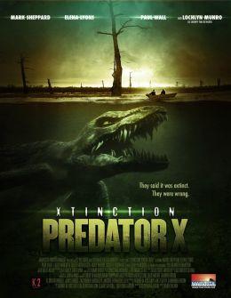 """Постер к фильму """"Вымирающий"""" /Alligator X/ (2010)"""