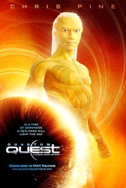 """Постер к фильму """"Квантовый квест: Космическая одиссея"""" /Quantum Quest: A Cassini Space Odyssey/ (2010)"""