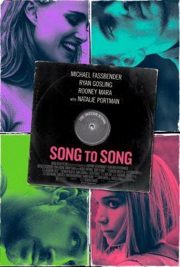 """Постер к фильму """"Песня за песней"""" /Song to Song/ (2017)"""
