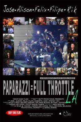 """Постер к фильму """"Папарацци"""" /Paparazzi: Full Throttle LA/ (2010)"""
