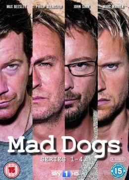 "Постер к фильму ""Бешеные псы"" /Mad Dogs/ (2011)"