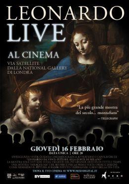 "Постер к фильму ""Леонардо HD"" /Leonardo Live/ (2012)"