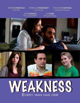 """Постер к фильму """"Слабость"""" /Weakness/ (2010)"""