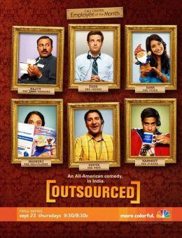 """Постер к фильму """"Сбежавшая работа"""" /Outsourced/ (2010)"""