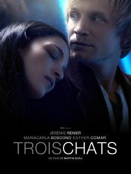 """Постер к фильму """"Три кошки"""" /Trois chats/ (2010)"""