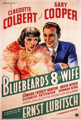 """Постер к фильму """"Восьмая жена Синей бороды"""" /Bluebeard's Eighth Wife/ (1938)"""