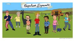 """Постер к фильму """"Наполеон Динамит"""" /Napoleon Dynamite/ (2012)"""