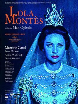 """Постер к фильму """"Лола Монтес"""" /Lola Montes/ (1955)"""
