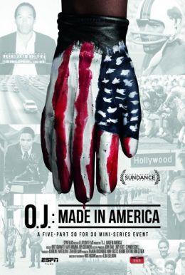 """Постер к фильму """"О. Джей: Сделано в Америке"""" /O.J.: Made in America/ (2016)"""