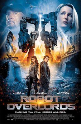 """Постер к фильму """"Железная схватка"""" /Robot Overlords/ (2014)"""