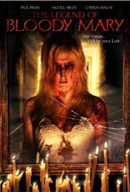"Постер к фильму ""Легенда о кровавой Мэри"" /The Legend of Bloody Mary/ (2008)"