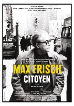 """Постер к фильму """"Макс Фриш, гражданин"""" /Max Frisch, citoyen/ (2008)"""