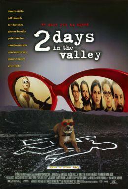 """Постер к фильму """"Два дня в долине"""" /2 Days in the Valley/ (1996)"""
